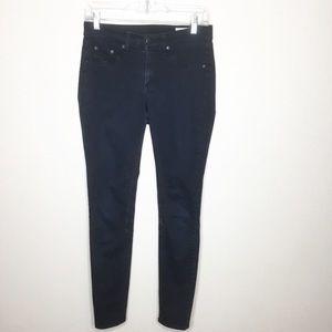 Rag & Bone Skinny Black Jeans Sz 27